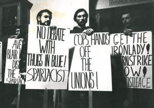 I wonder if the guild of students know who the Spartacist League are?